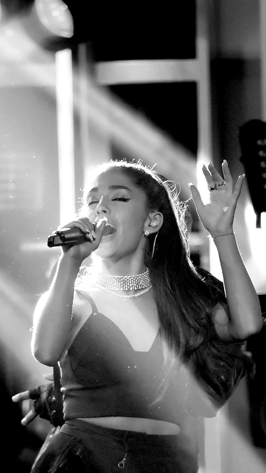 3d Iphone 7 Plus Wallpaper 1080x1920 Ariana Grande Life Performance Iphone 7 6s 6