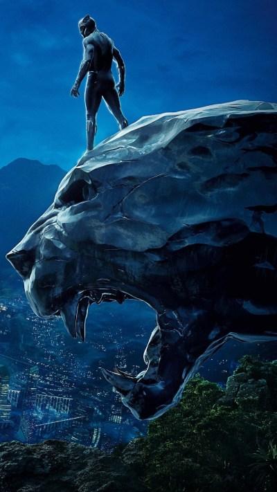 1080x1920 Black Panther 4k Movie Poster Iphone 7,6s,6 Plus, Pixel xl ,One Plus 3,3t,5 HD 4k ...