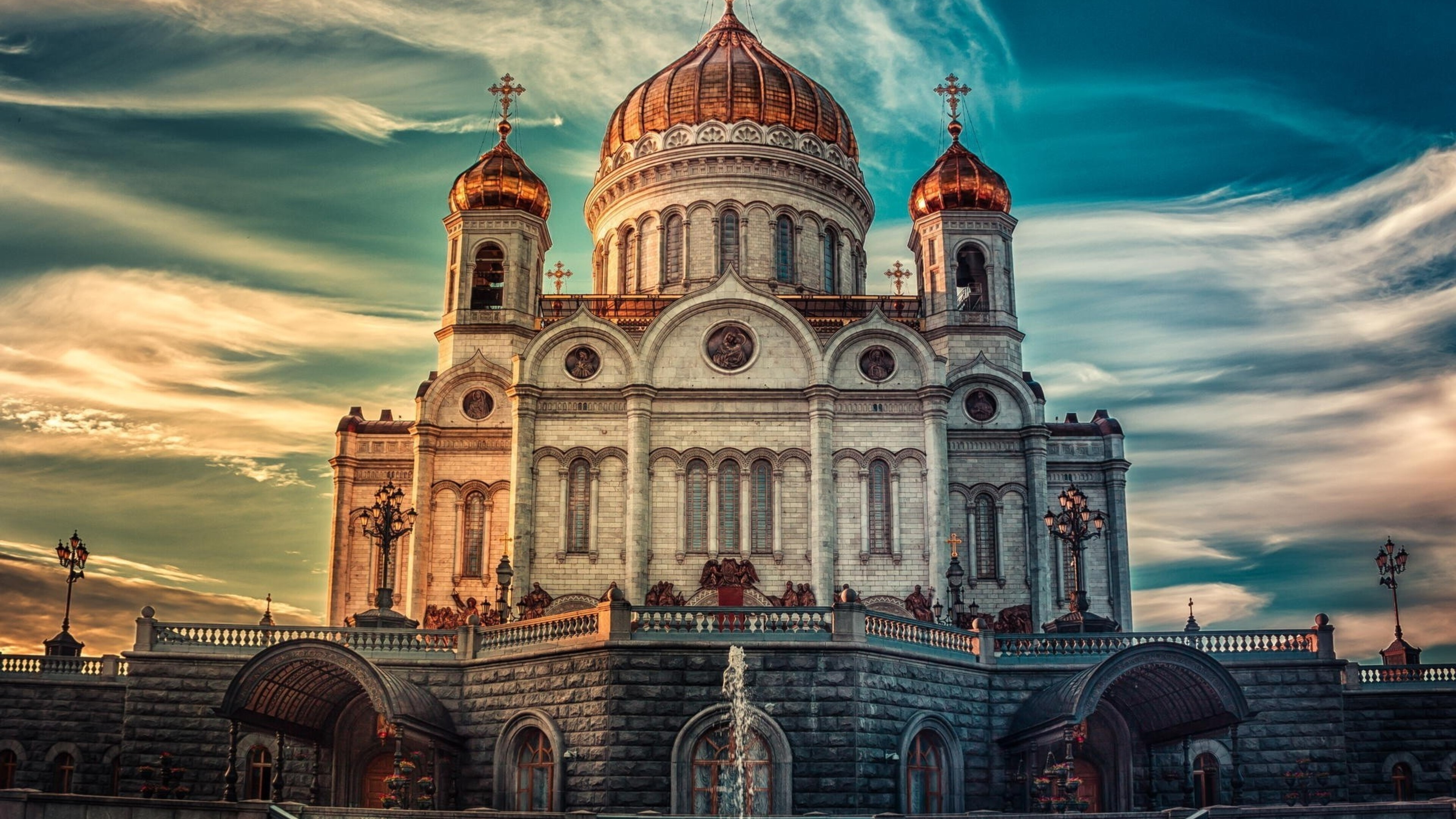 Beautiful Hd 3d Flowers Wallpapers 3840x2160 Cathedral Of Christ The Savior In Russia 4k Hd