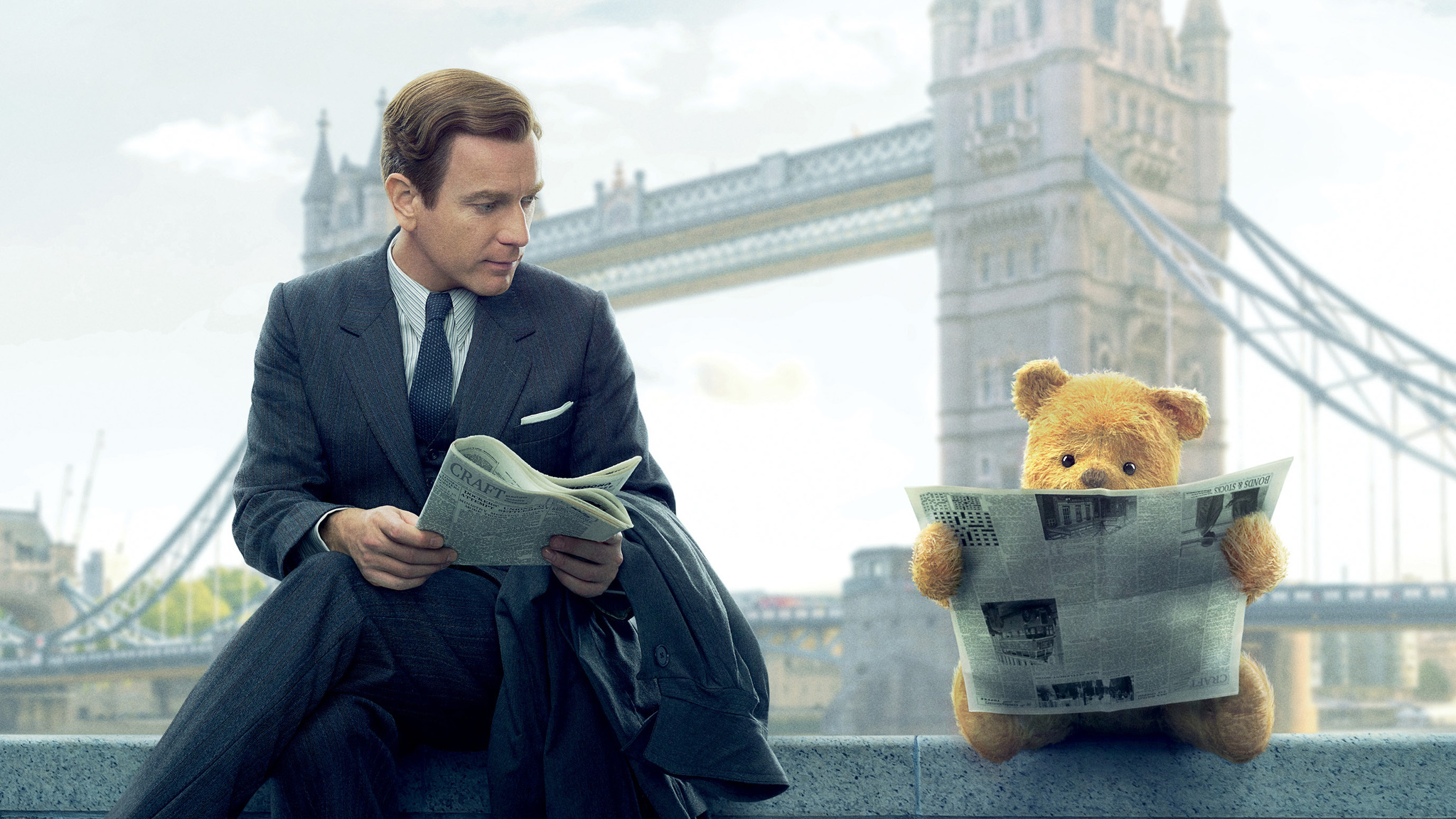 Cute Wallpapers  2048x1152 Christopher Robin 2018 Movie Poster 2048x1152