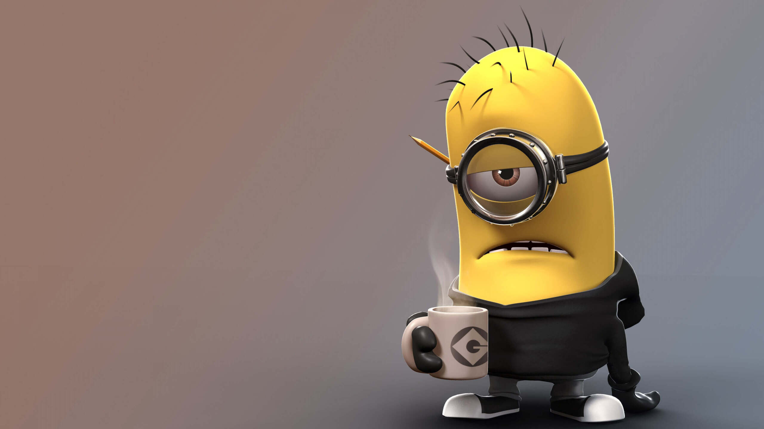 1440p Wallpaper Girls 2560x1440 Despicable Me Angry Minion 1440p Resolution Hd