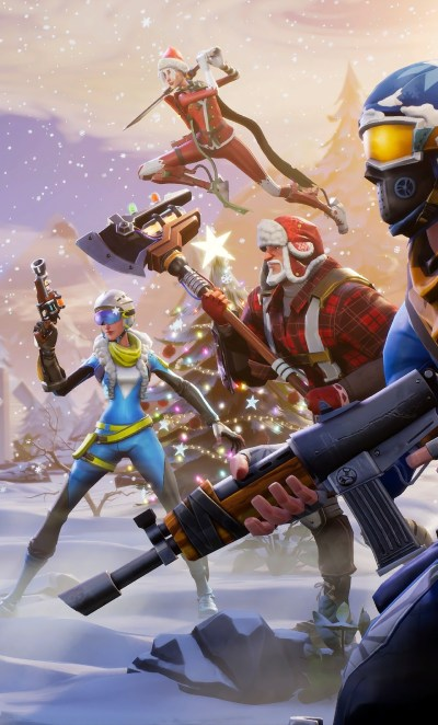 1280x2120 Fortnite Winter Season iPhone 6+ HD 4k Wallpapers, Images, Backgrounds, Photos and ...