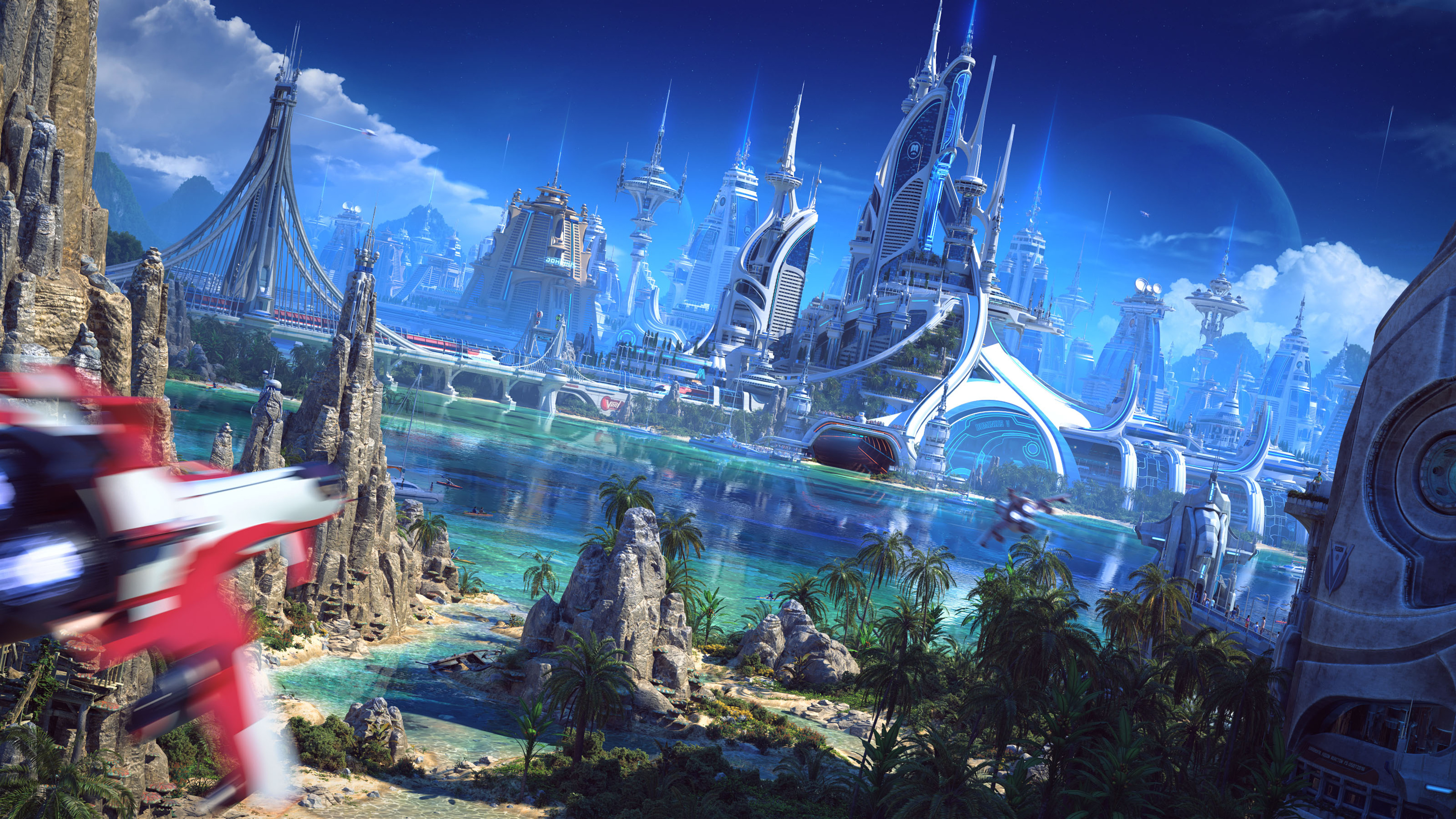 Cute Wallpapers  3840x2160 Futuristic World 4k Hd 4k Wallpapers Images