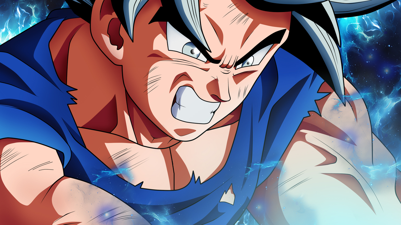 Dragon Ball Z 3d Wallpaper Download 1366x768 Goku Dragon Ball Super Anime Hd 2018 1366x768