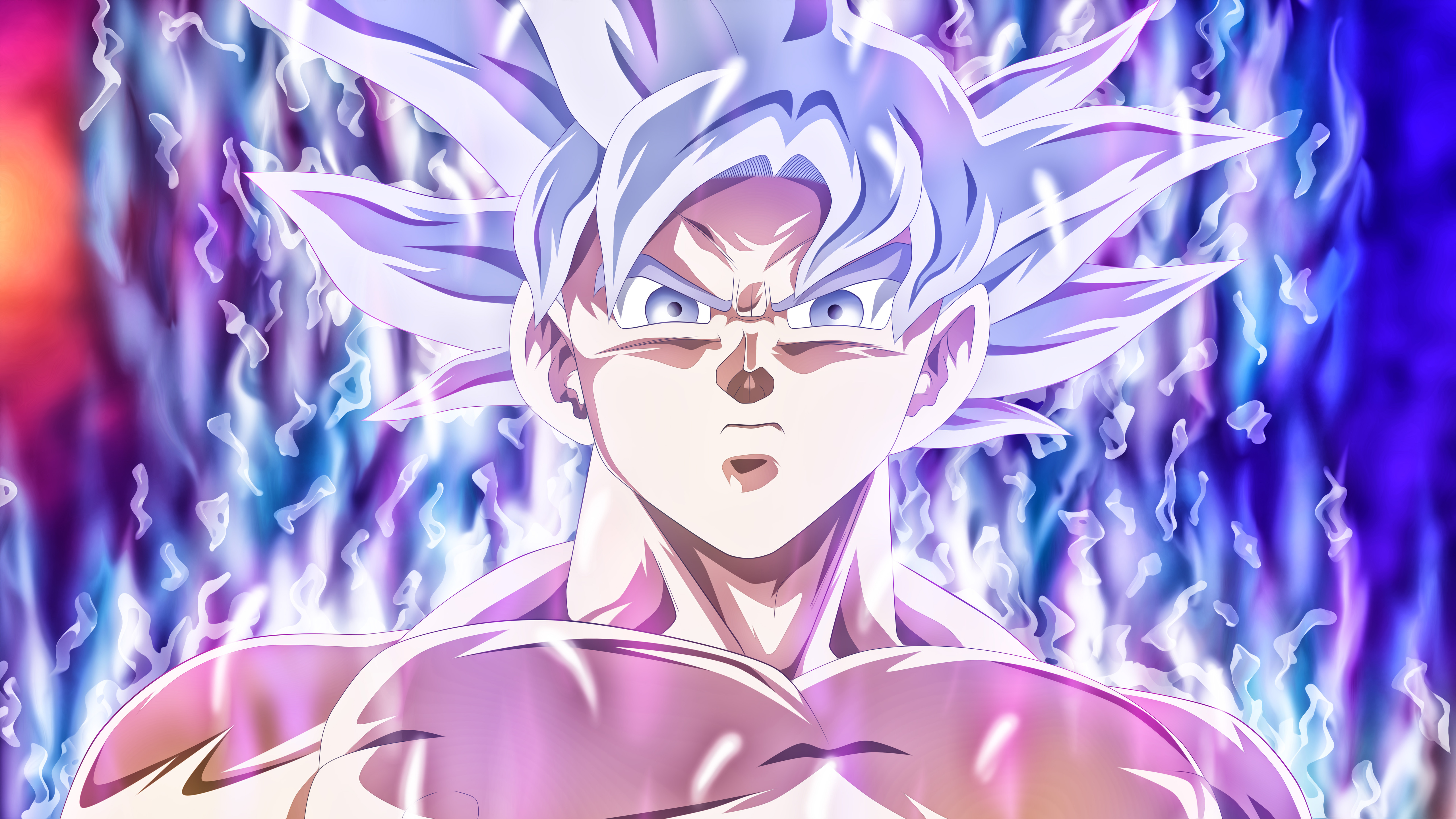 Goku Ultra Instinct Wallpaper 3d 5120x2880 Goku Mastered Ultra Instinct 5k Hd 4k Wallpapers