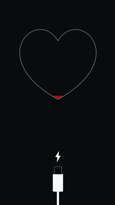 640x1136 Iphone Less Battery Minimalism iPhone 5,5c,5S,SE ,Ipod Touch HD 4k Wallpapers, Images ...
