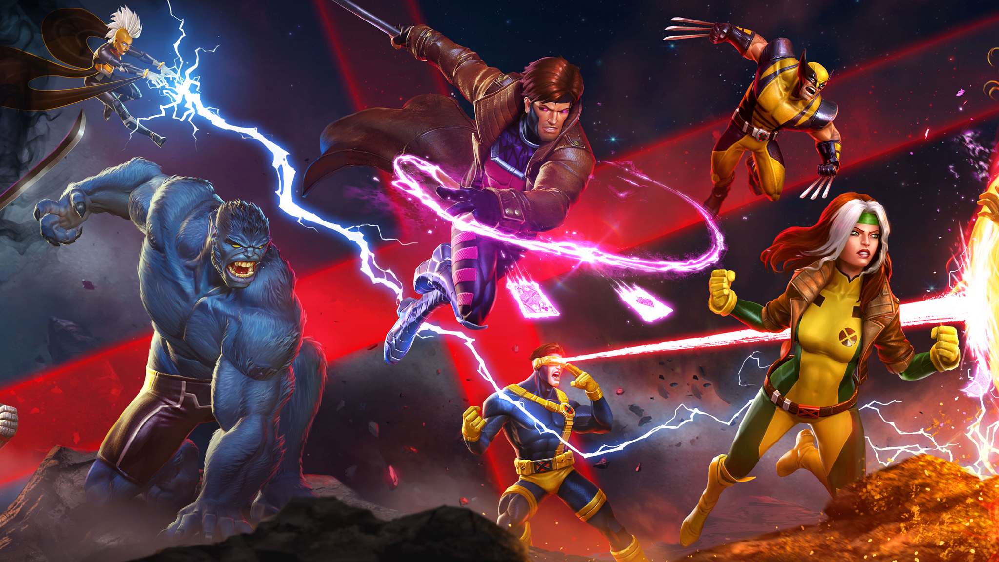 Marvel Superheroes 3d Wallpapers 2048x1152 Marvel Contest Of Champions 2048x1152 Resolution