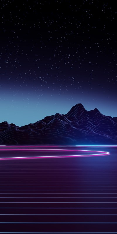 1080x2160 Neon Highway 4k One Plus 5T,Honor 7x,Honor view 10,Lg Q6 HD 4k Wallpapers, Images ...