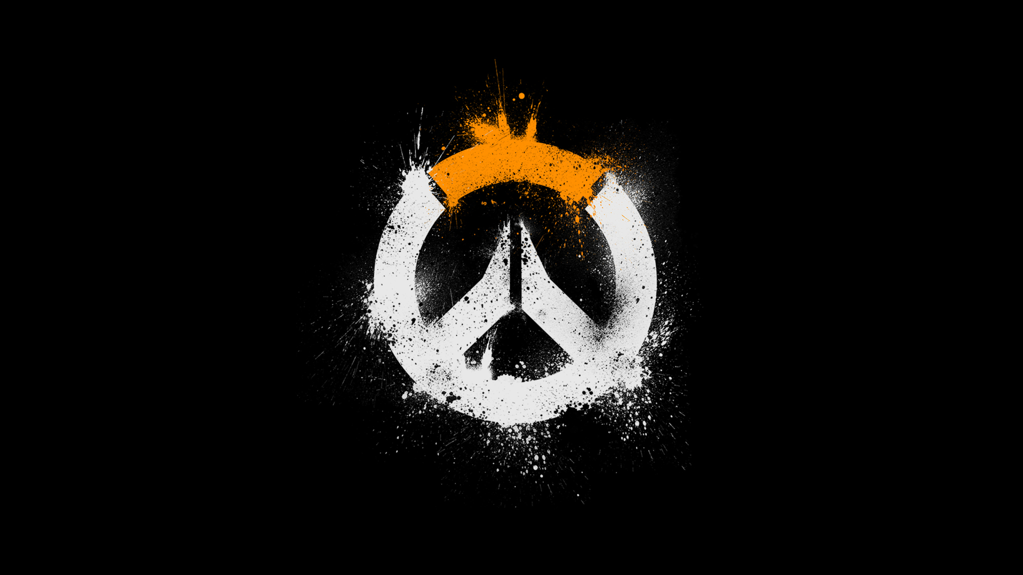 Cute Wallpapers  2048x1152 Overwatch Logo Hd 2048x1152 Resolution Hd 4k
