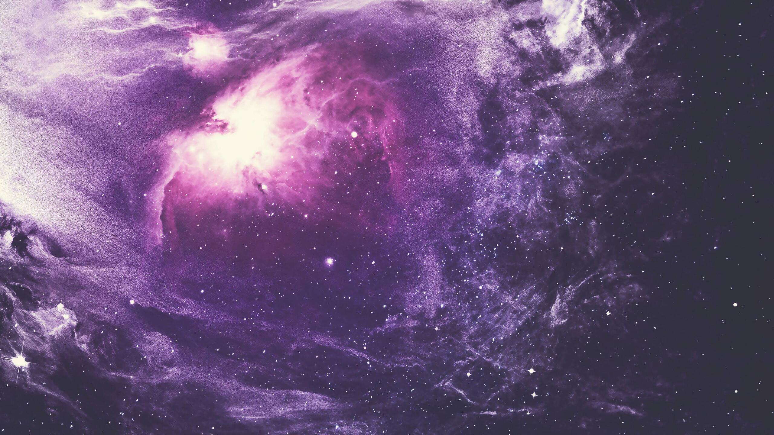 1440p Wallpaper Girls 2560x1440 Purple Nebula 4k 1440p Resolution Hd 4k