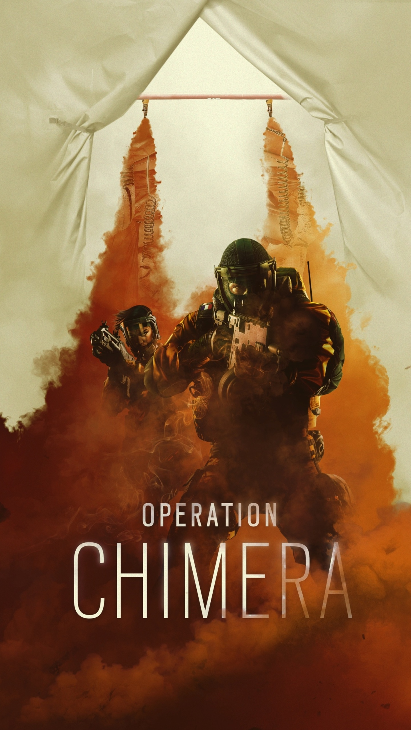3d Wallpaper 800x1280 1440x2560 Rainbow Six Siege Operation Chimera Samsung