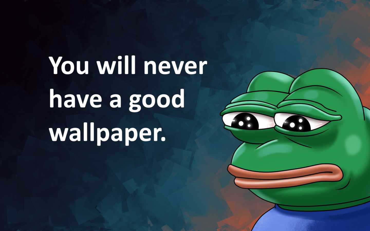 Pepe The Frog Cute Wallpaper 1440x900 Real Story 1440x900 Resolution Hd 4k Wallpapers