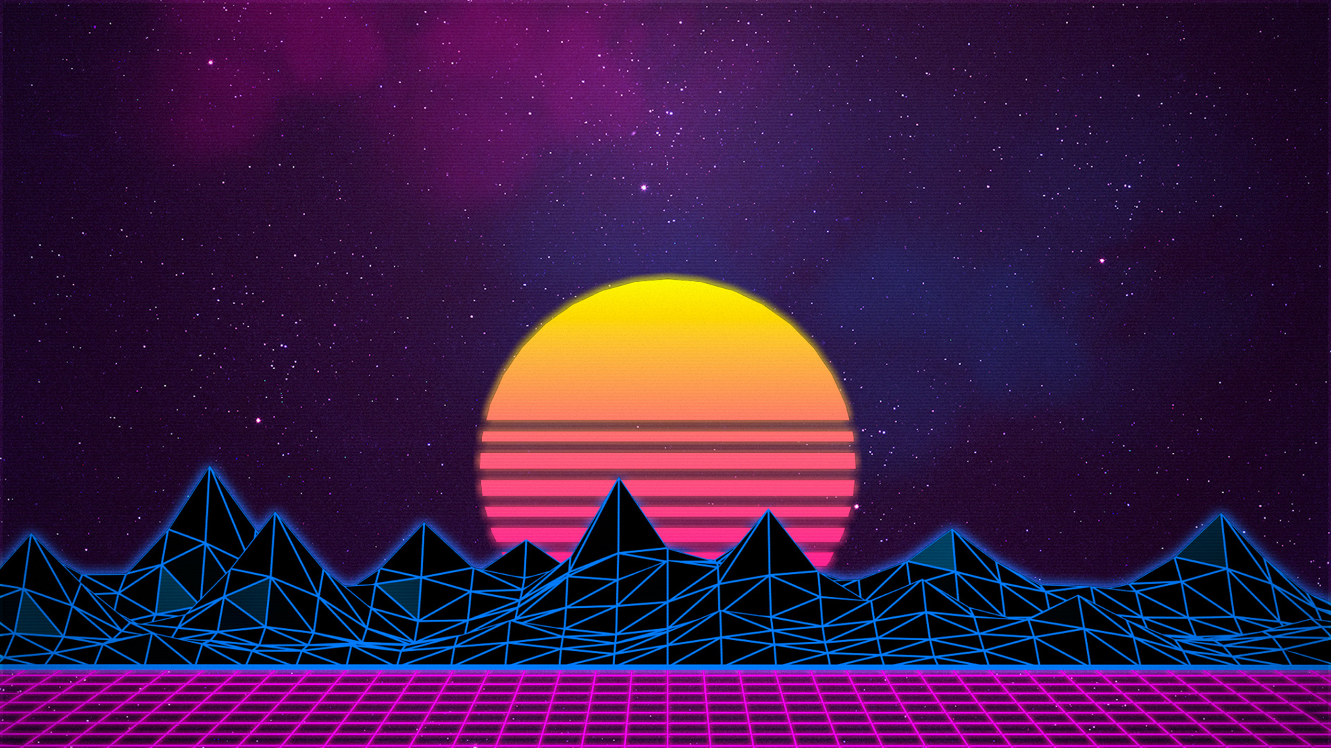 3d Wallpaper 800x1280 1920x1080 Retrowave Laptop Full Hd 1080p Hd 4k Wallpapers
