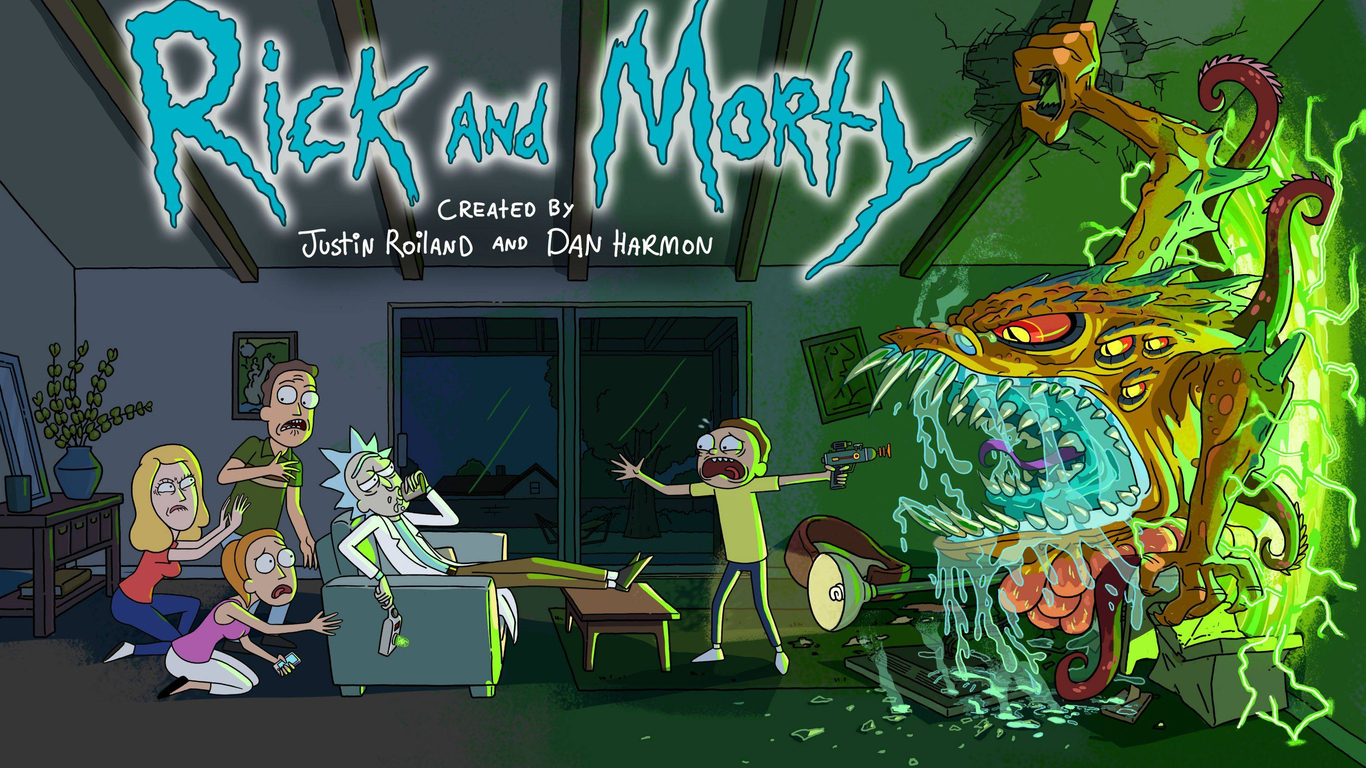 3d Animated Wallpaper For Android Mobile 1366x768 Rick And Morty 2017 1366x768 Resolution Hd 4k
