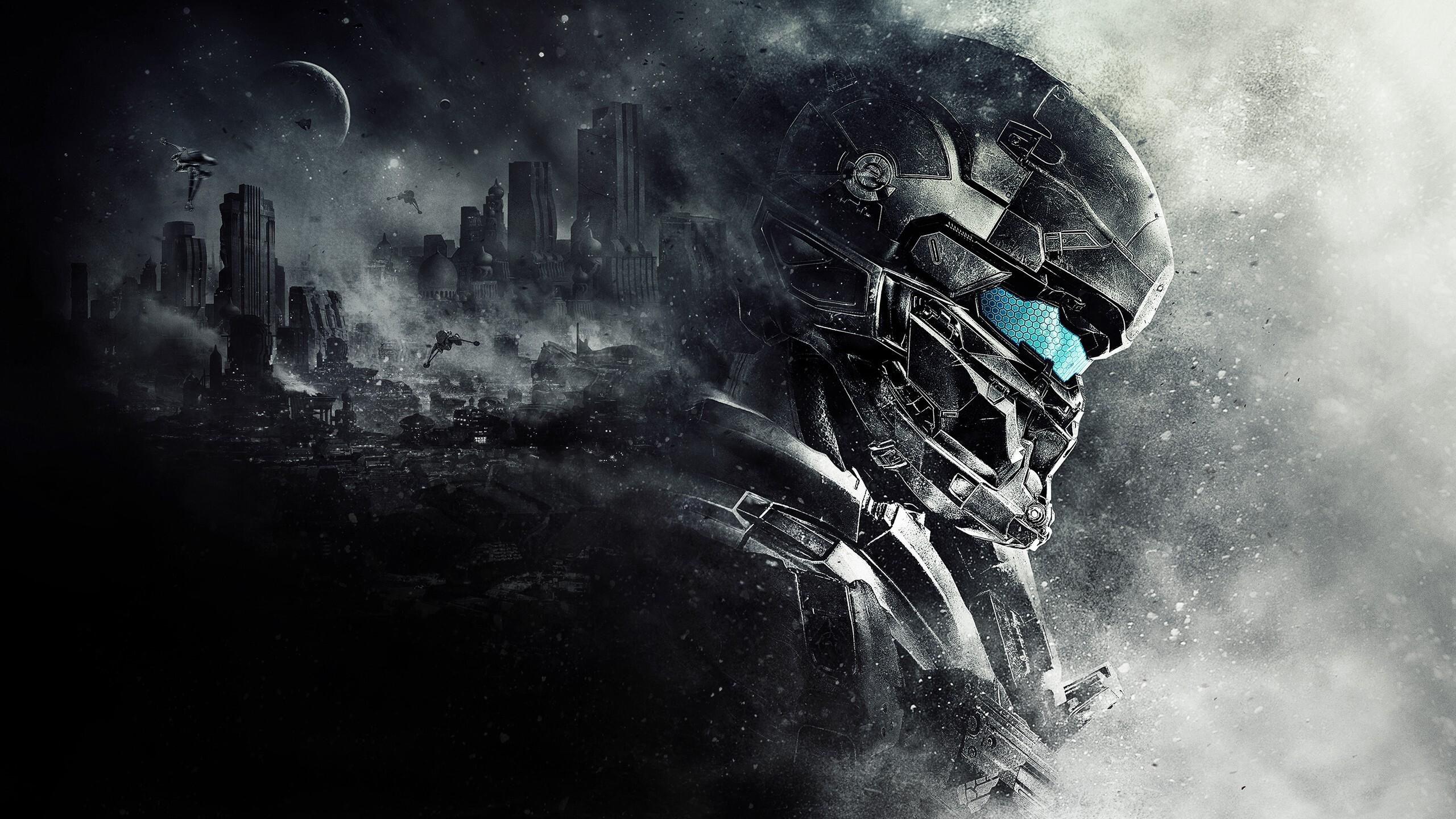 1440p Wallpaper Girls 2560x1440 Spartan Locke Halo 5 1440p Resolution Hd 4k