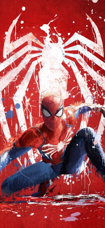 1125x2436 Spiderman Ps4 Art 2018 Iphone XS,Iphone 10,Iphone X HD 4k Wallpapers, Images ...