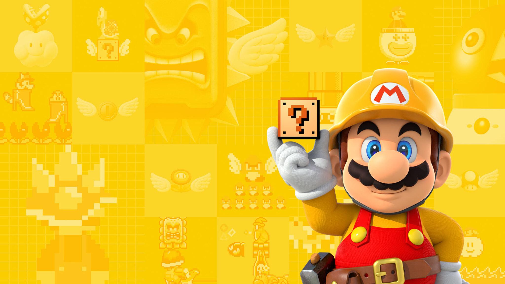 Android 3d Live Wallpaper Maker 2048x1152 Super Mario Maker 2048x1152 Resolution Hd 4k