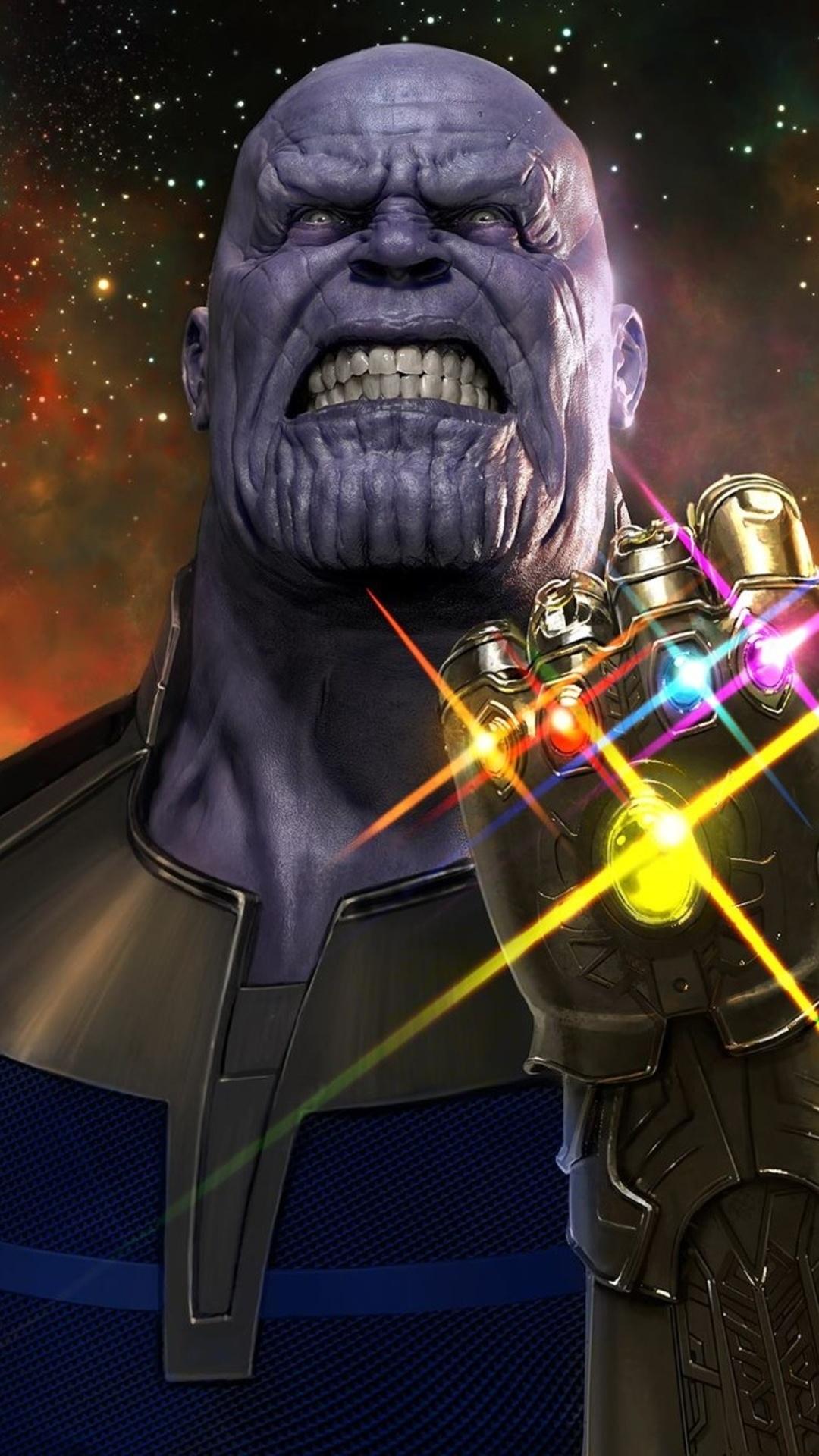 Girl Gangster Wallpaper 1080x1920 Thanos Avengers Infinity War Iphone 7 6s 6 Plus