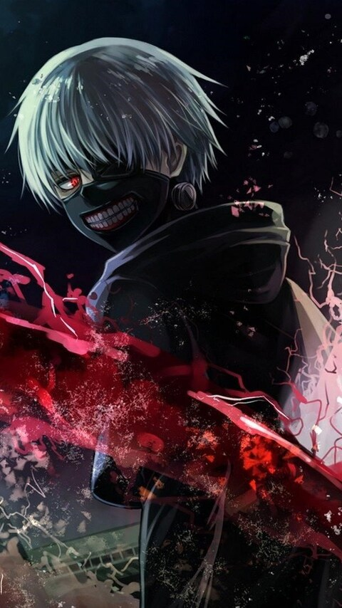 3d Moving Wallpapers For Pc Free Download 480x854 Tokyo Ghoul Art Android One Hd 4k Wallpapers