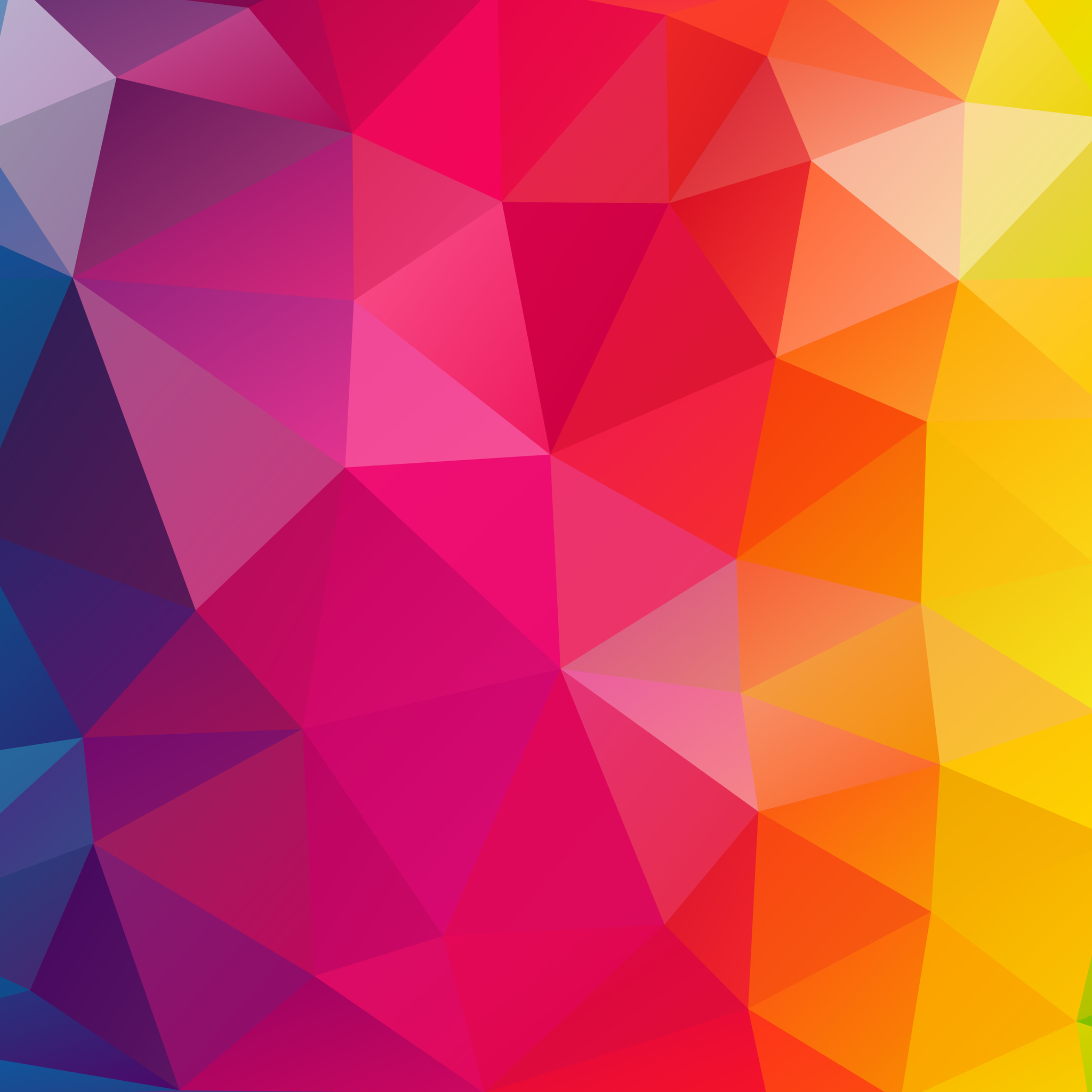 3d Geometric Wallpaper For Walls 2048x2048 Triangles Colorful Background Ipad Air Hd 4k