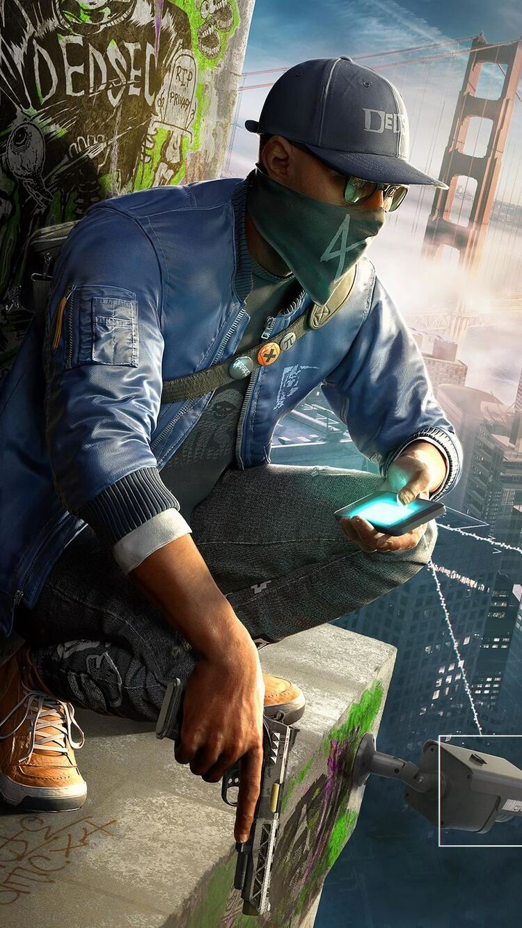 3d Wallpaper 800x1280 750x1334 Watch Dogs 2 Game Iphone 6 Iphone 6s Iphone 7