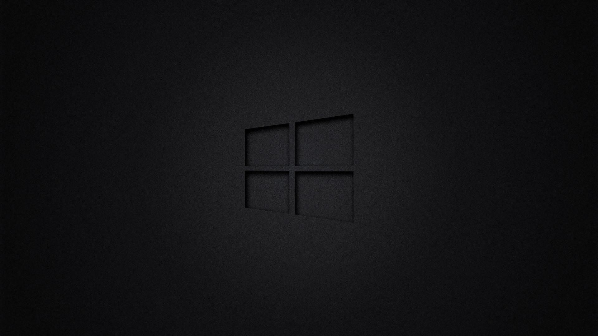 Wallpaper Full Hd 1080p 3d 1920x1080 Windows 10 Dark Laptop Full Hd 1080p Hd 4k