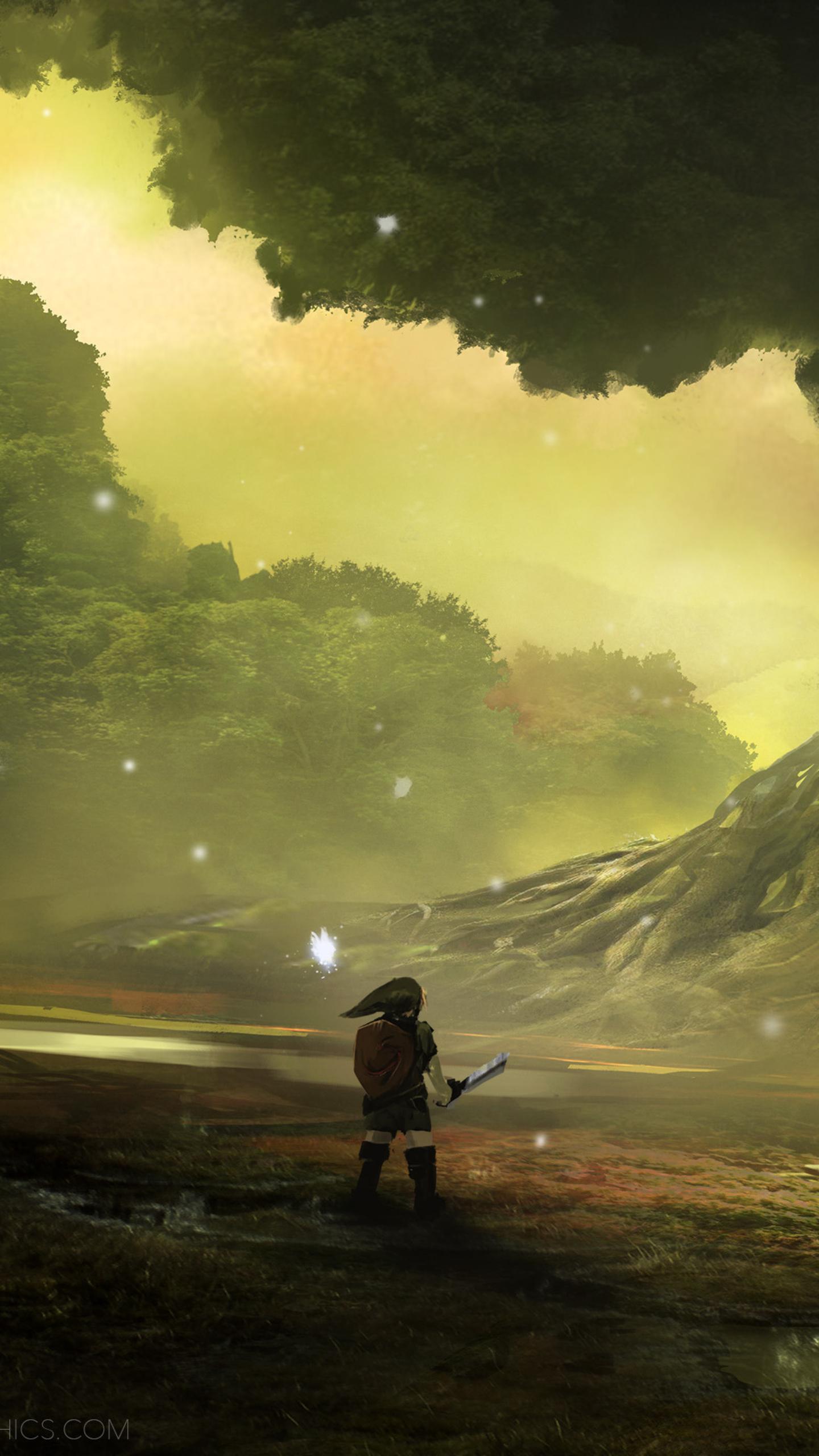 Zelda Ocarina Of Time 3d Wallpaper 1440x2560 Zelda Ocarina Of Time Artwork Samsung Galaxy S6