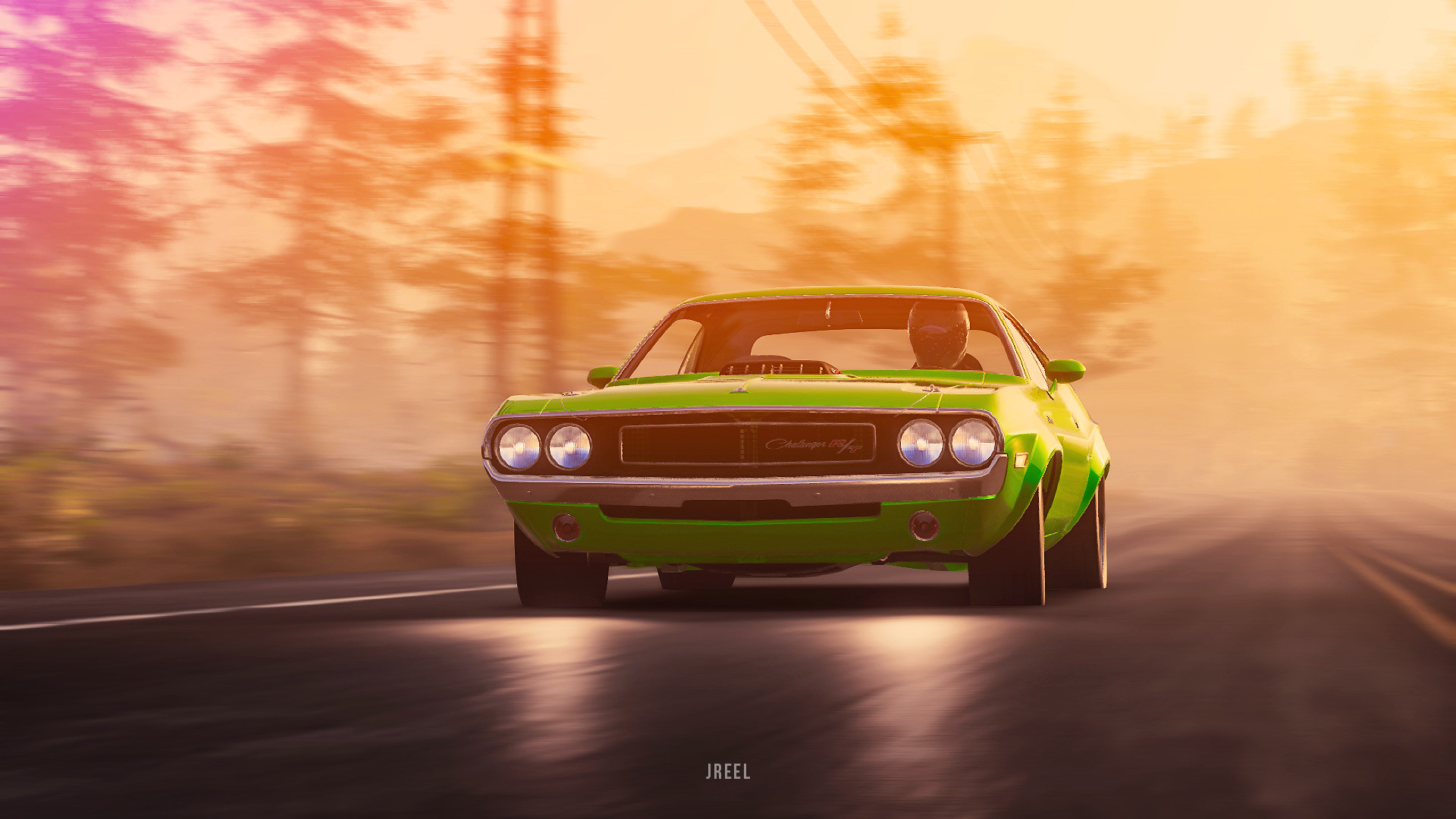 Dodge Challenger 1970 Wallpaper 1970 Dodge Challenger Rt From The Crew 2 Hd Games 4k Wallpapers
