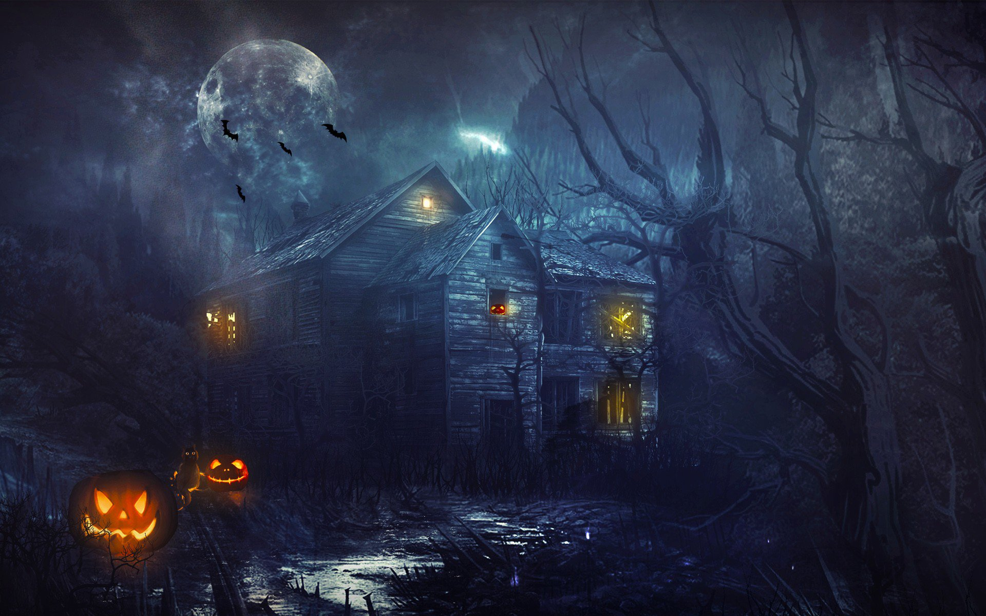 Haunted House 3d Live Wallpaper Download 1024x1204 2016 Halloween 1024x1204 Resolution Hd 4k