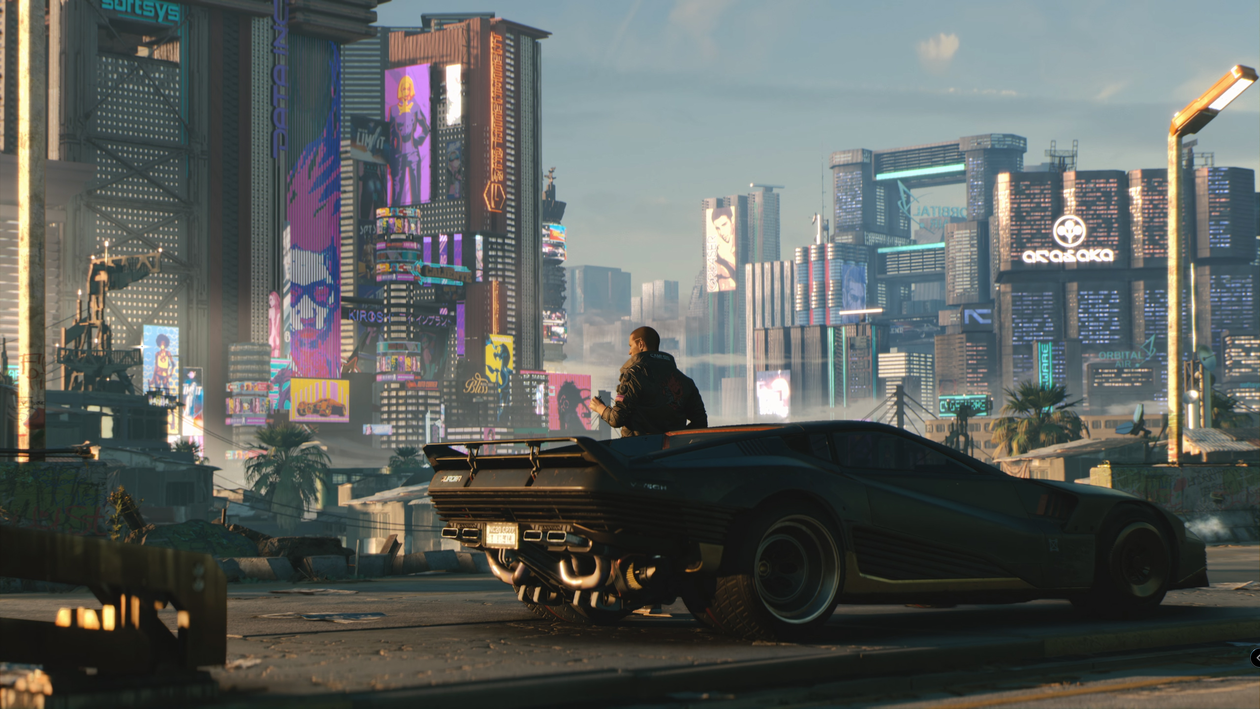 Car Logo Wallpapers For Mobile 2018 Cyberpunk 2077 Car Hd Games 4k Wallpapers Images