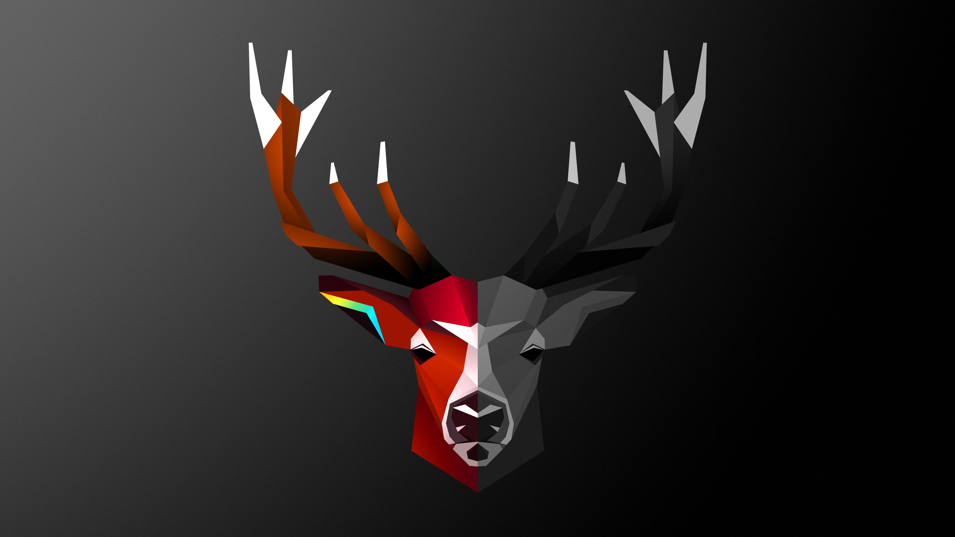 Wallpaper Pubg 2560x1440 Abstract Deer 4k 1440p Resolution Hd 4k