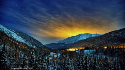 Alaska Winter Nights, HD Nature, 4k Wallpapers, Images, Backgrounds, Photos and Pictures