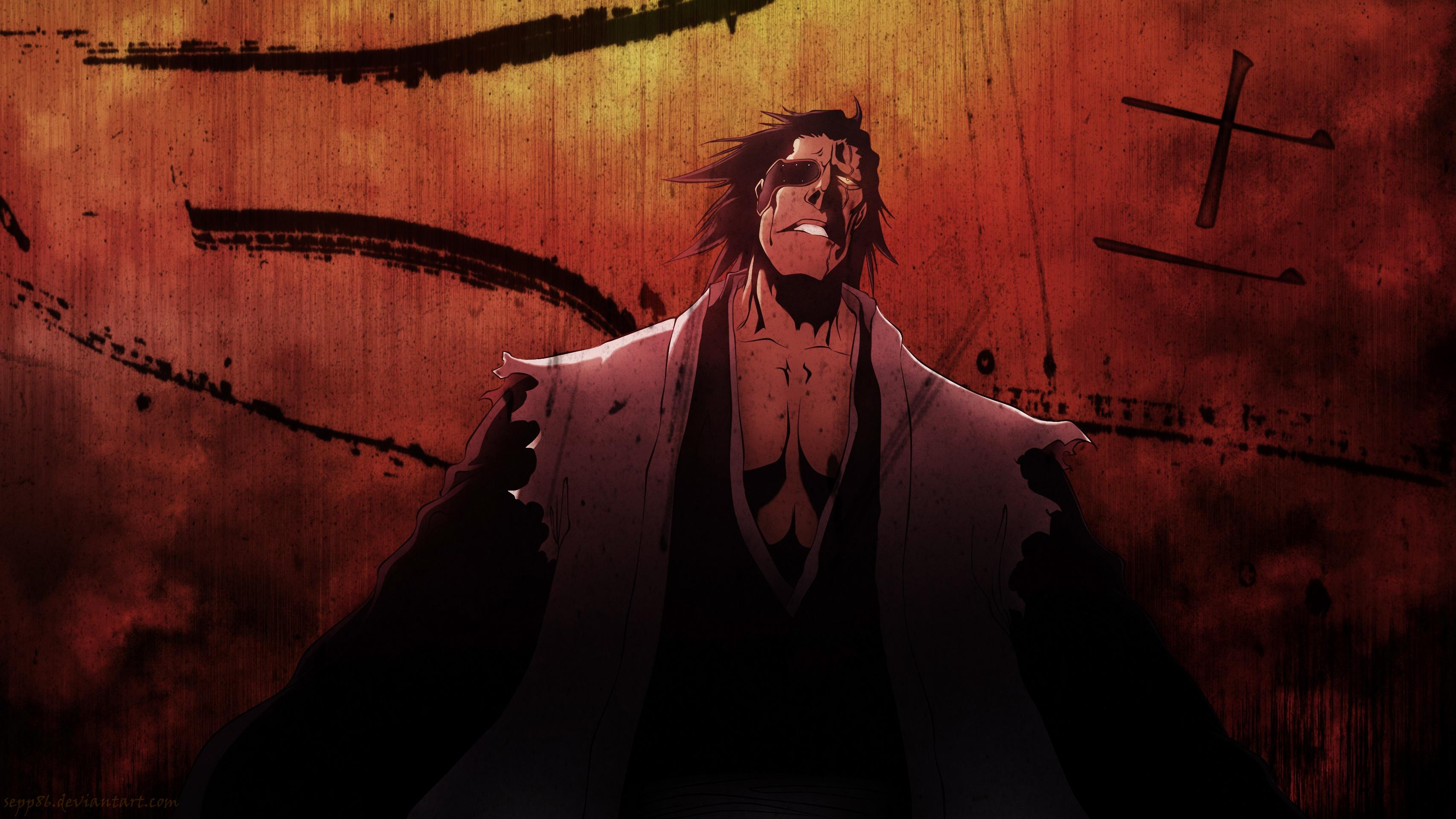 320x480 Animated Wallpapers Anime Bleach Kenpachi Zaraki Hd Anime 4k Wallpapers