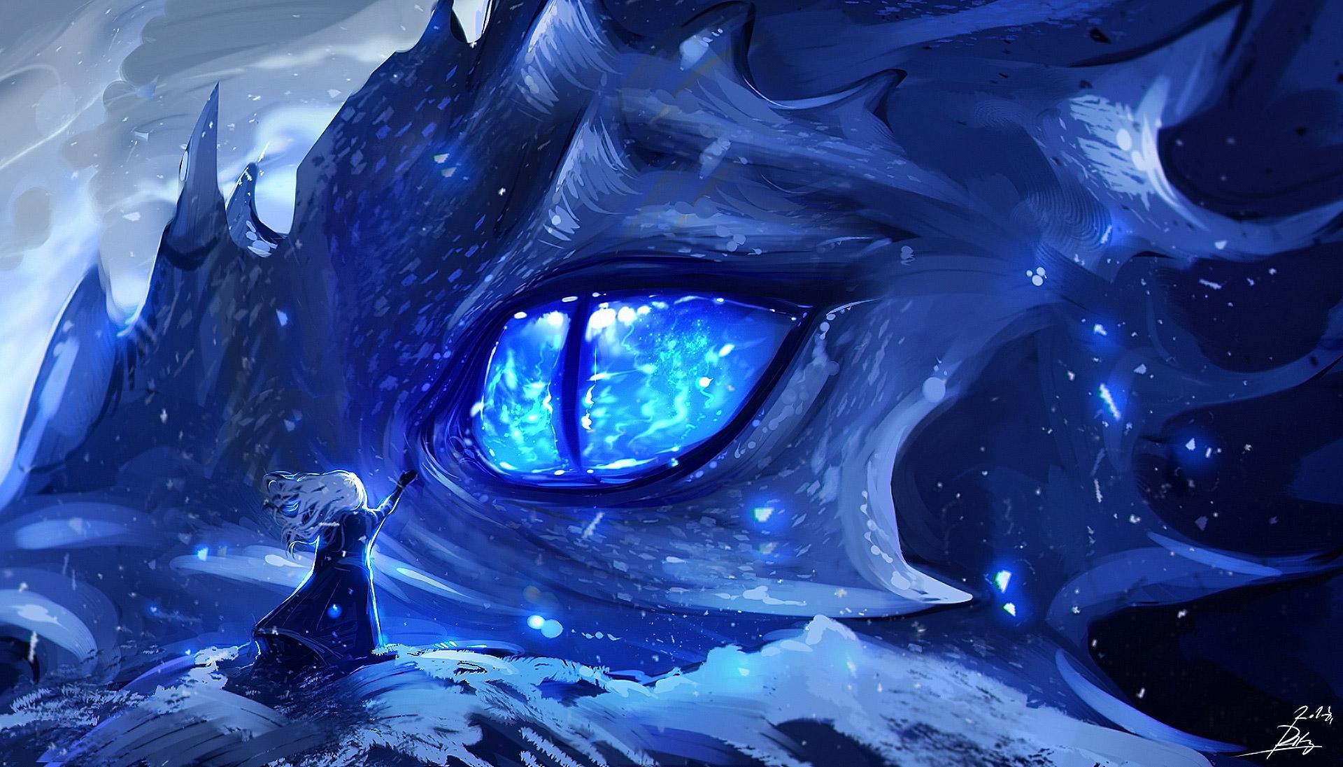 2560x1024 Hd Wallpaper Anime Dragon Eye Hd Anime 4k Wallpapers Images