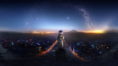 Astronaut Creative Artwork Deviantart, HD Artist, 4k Wallpapers, Images, Backgrounds, Photos and ...