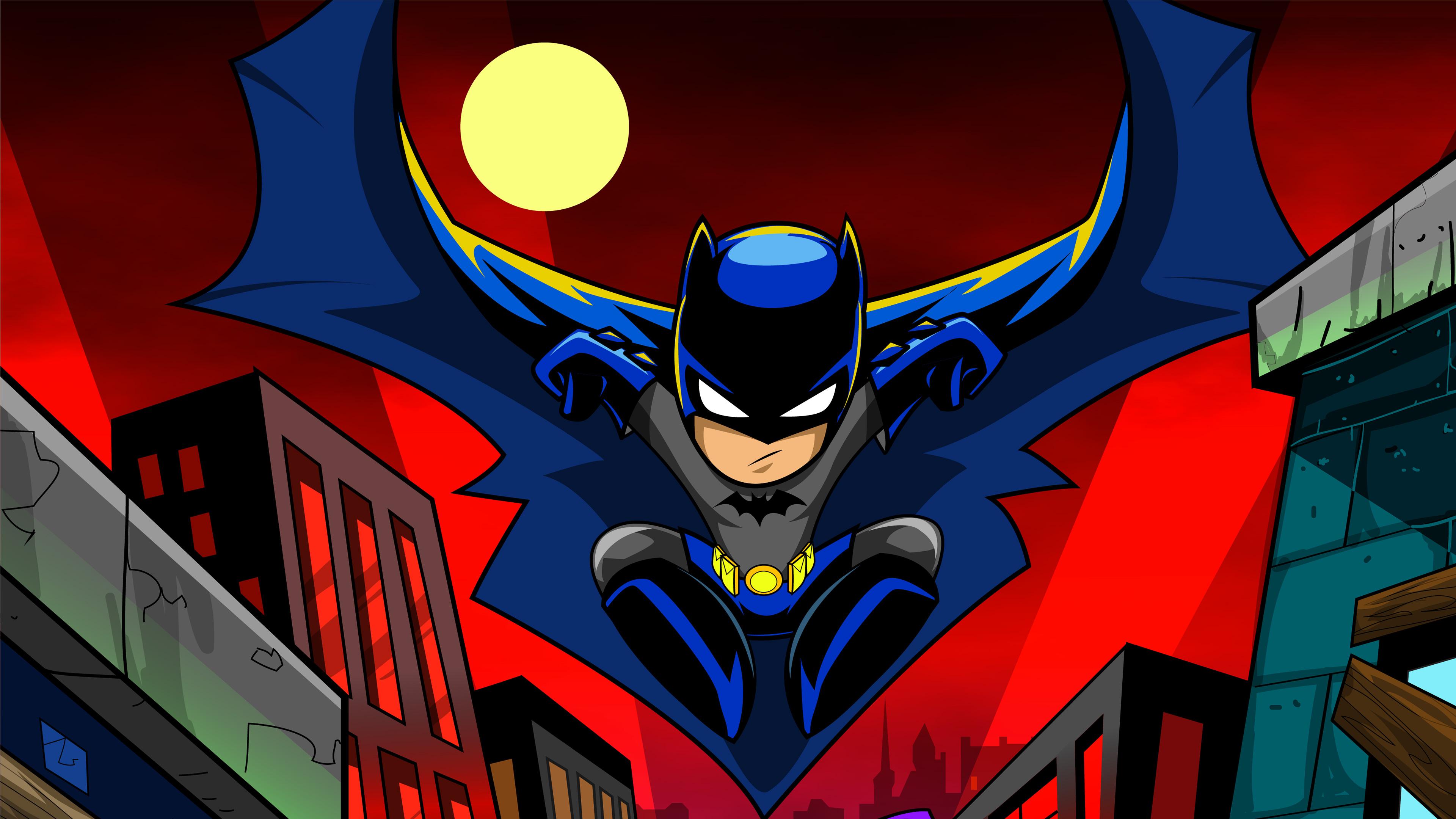 Joker Animated Wallpaper Batman Cartoon Art 4k Hd Superheroes 4k Wallpapers