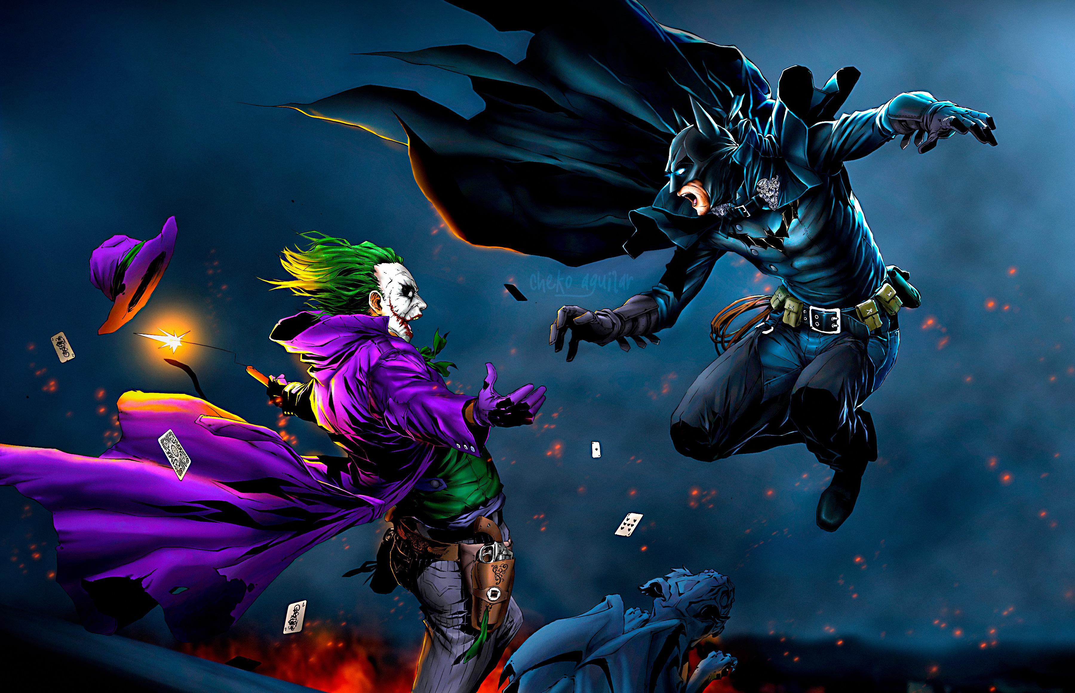 Parineeti Chopra Wallpaper 3d Batman Vs Joker Hd Superheroes 4k Wallpapers Images