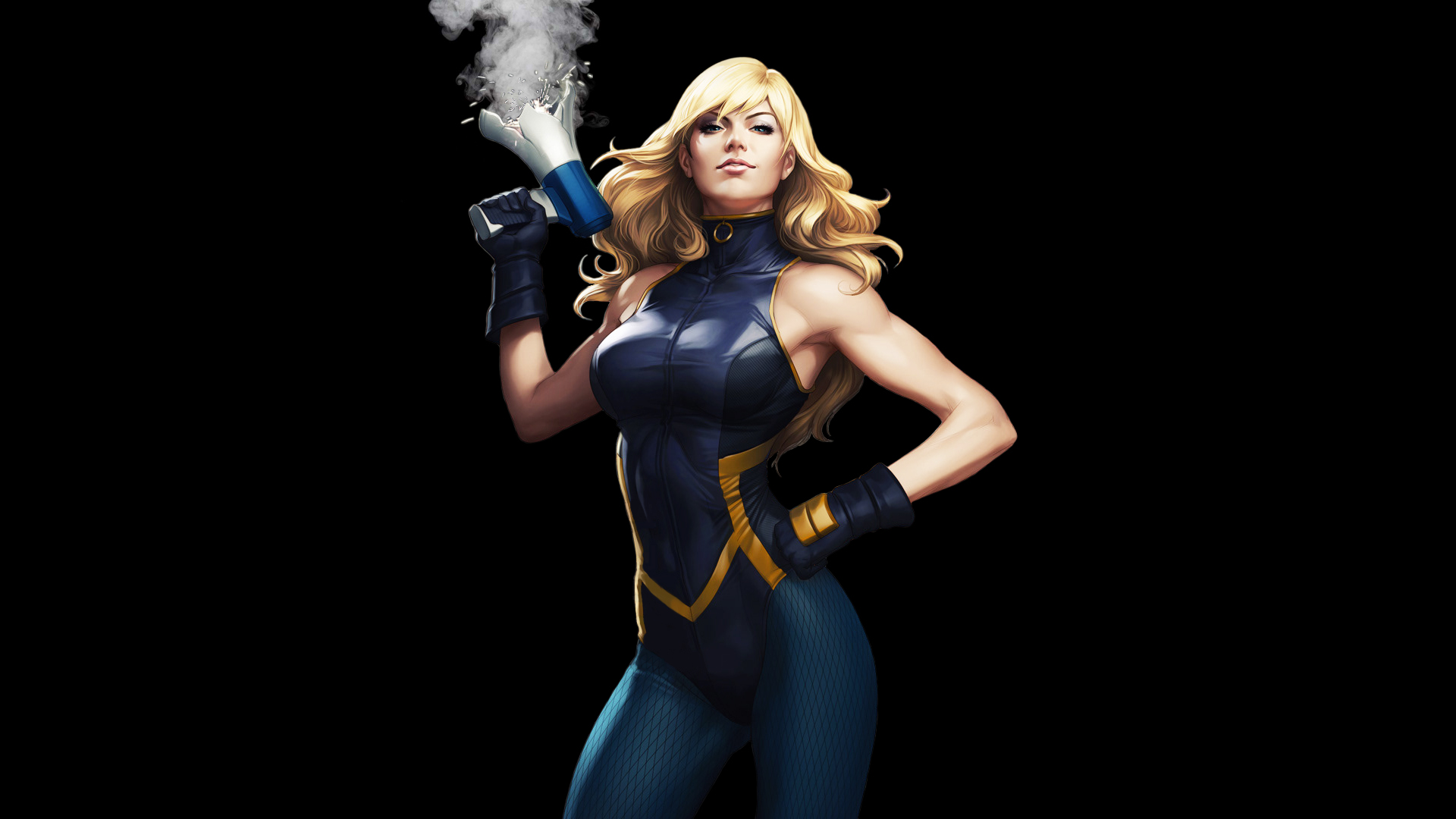 3d Superhero Wallpaper For Android Black Canary Hd Artist 4k Wallpapers Images