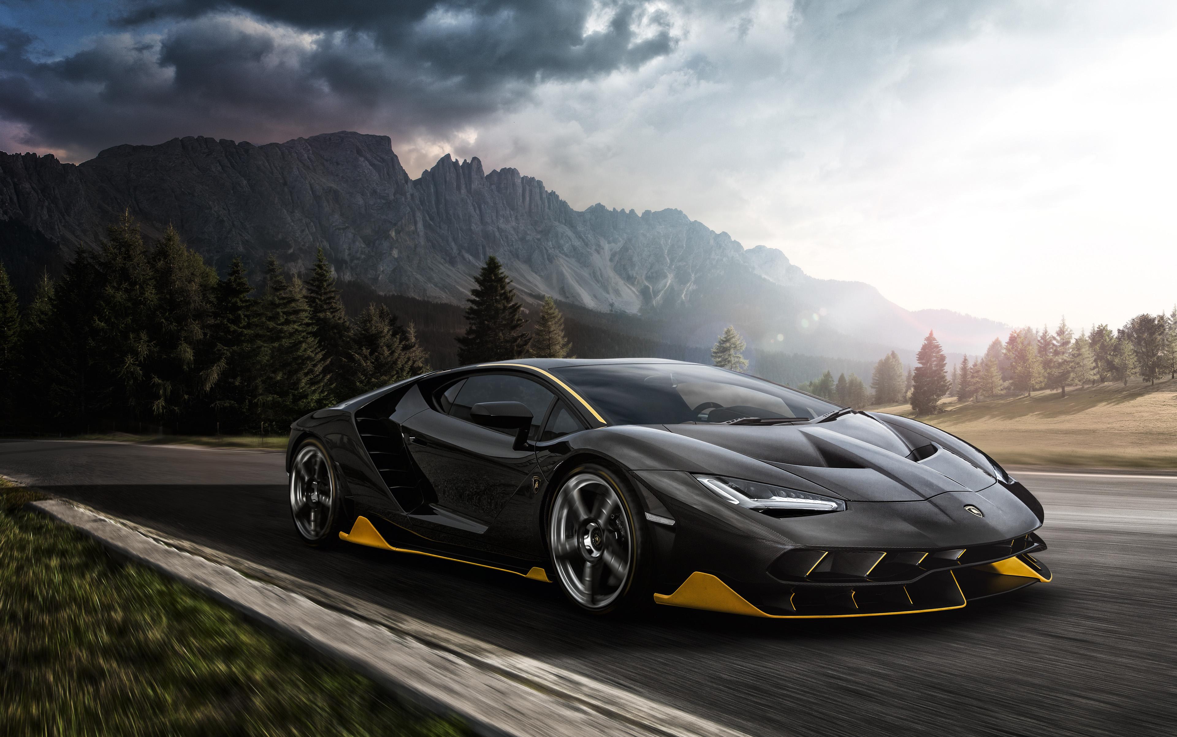 Lamborgini Sports Car Hd Wallpaper Black Lamborghini Aventador 4k 2018 Hd Cars 4k
