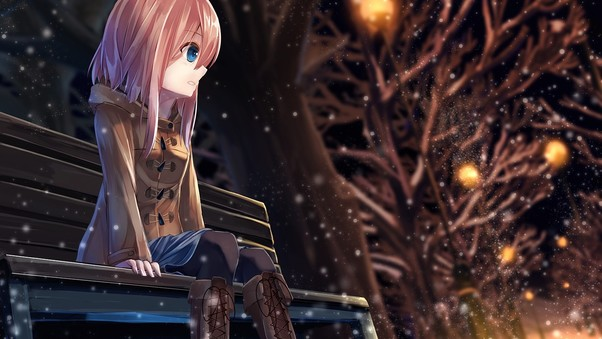 Wallpaper Of Alone Girl In Love Anime Girl Alone Hd Anime 4k Wallpapers Images