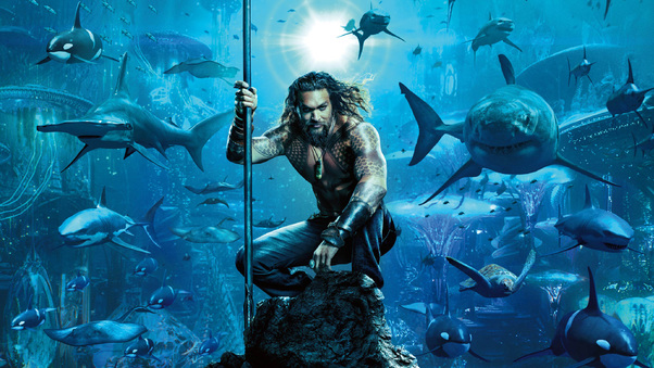 Aquaman Movie Poster 2018, HD Movies, 4k Wallpapers, Images
