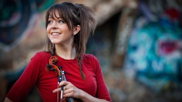 Car Logo Wallpapers For Mobile Lindsey Stirling Cute Hd Music 4k Wallpapers Images