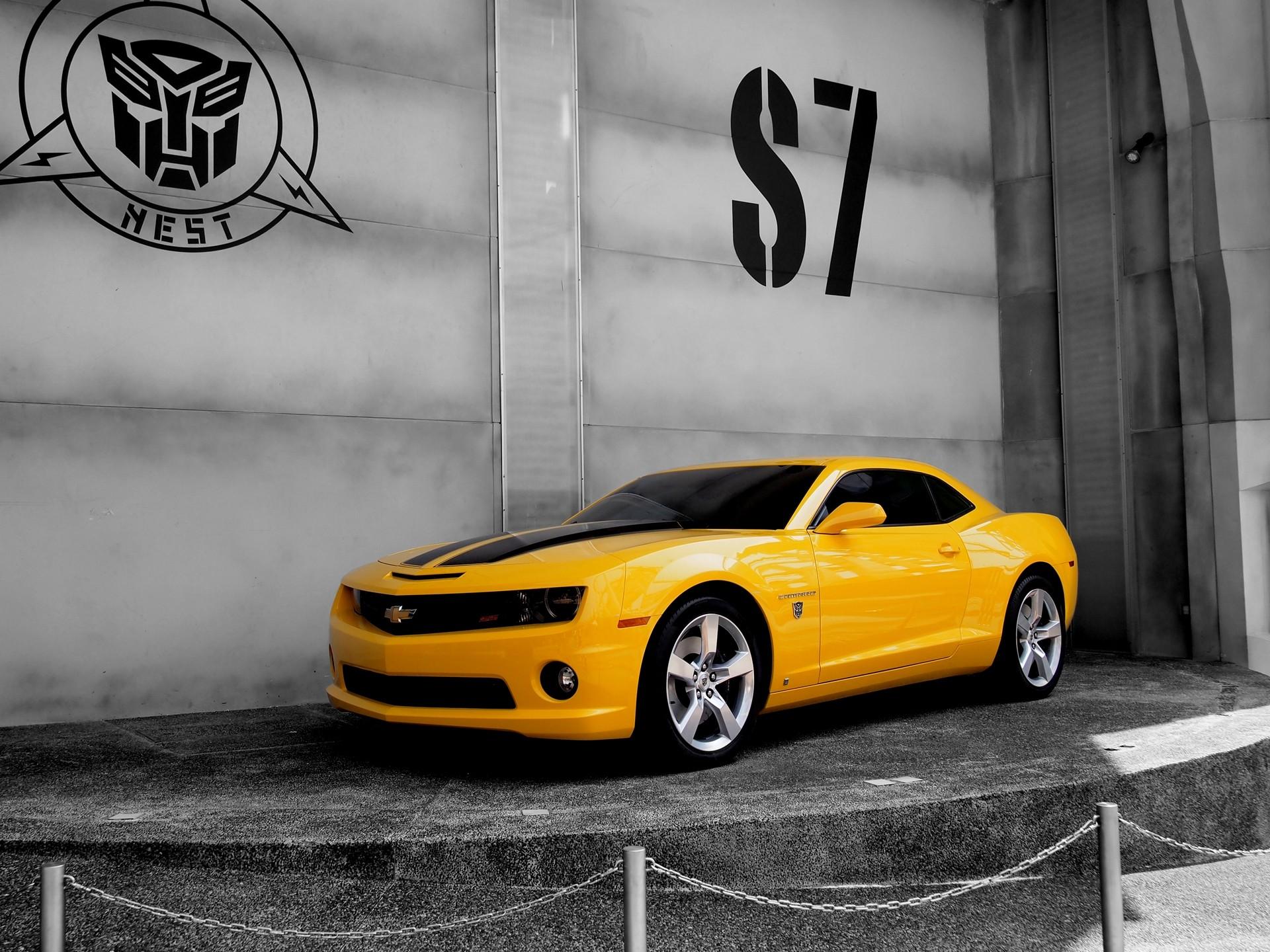 Bumblebee Car Wallpaper Download Camaro In Transformer Hd Cars 4k Wallpapers Images