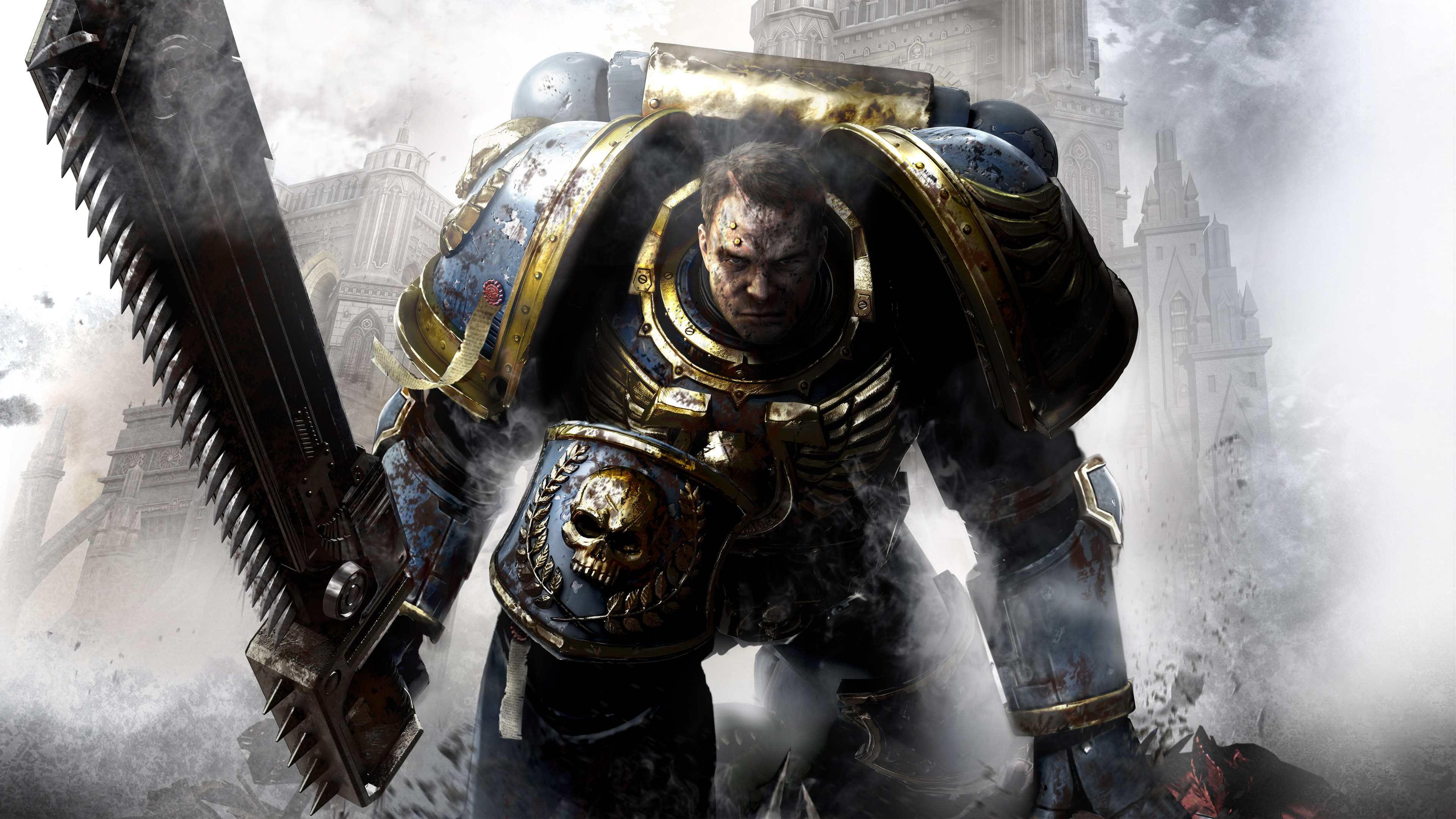 Wallpapers Hd Hulk Captain Titus Warhammer 40000 Space Marine Hd Games 4k