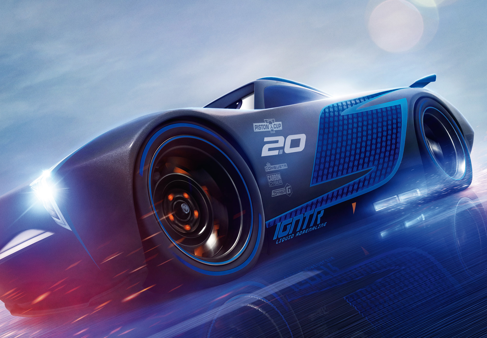 Pixar Cars Desktop Wallpaper Cars 3 Jackson Storm Hd Hd Movies 4k Wallpapers Images