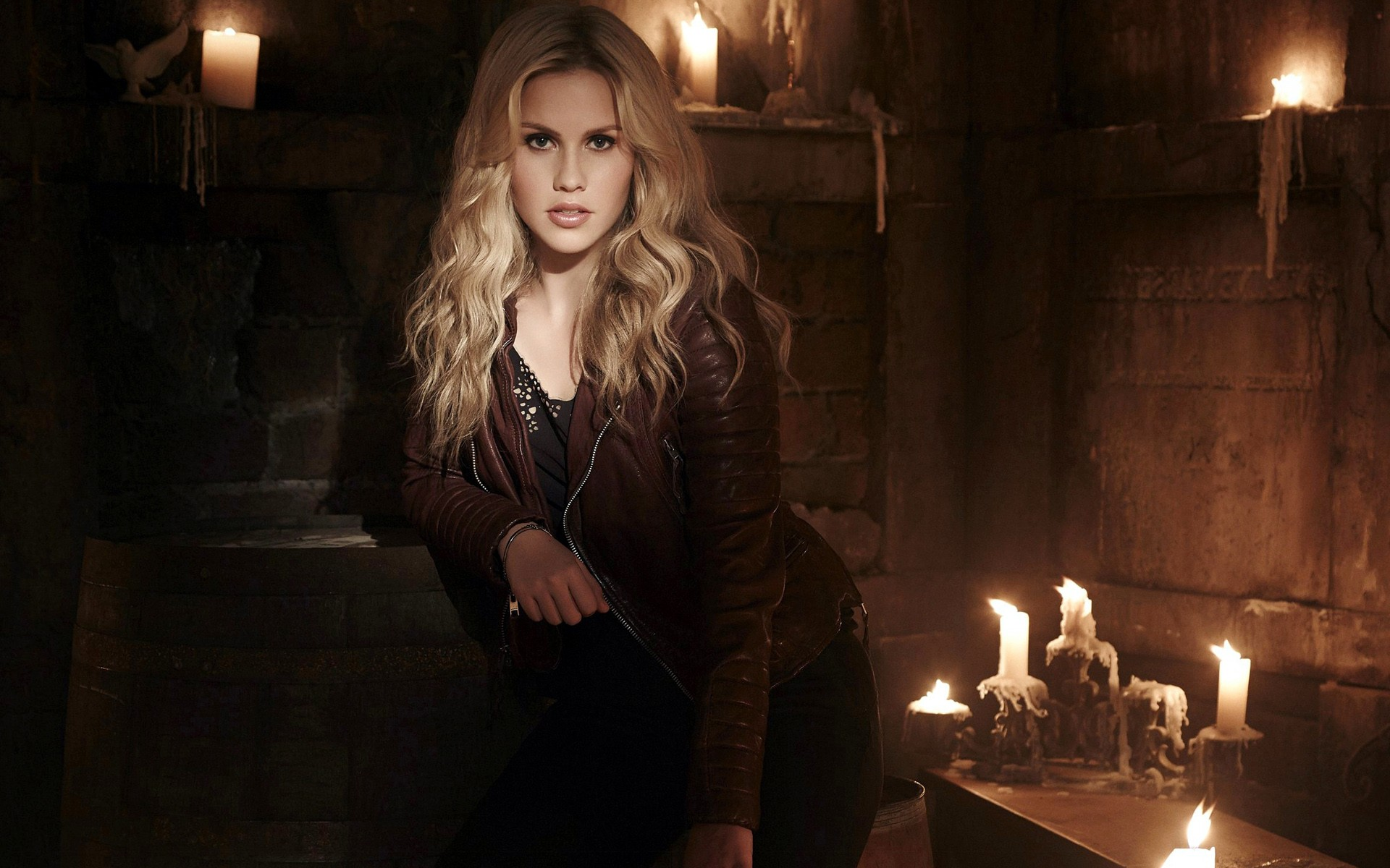 3d Wallpaper Vampire Diaries Claire Holt Hd Celebrities 4k Wallpapers Images