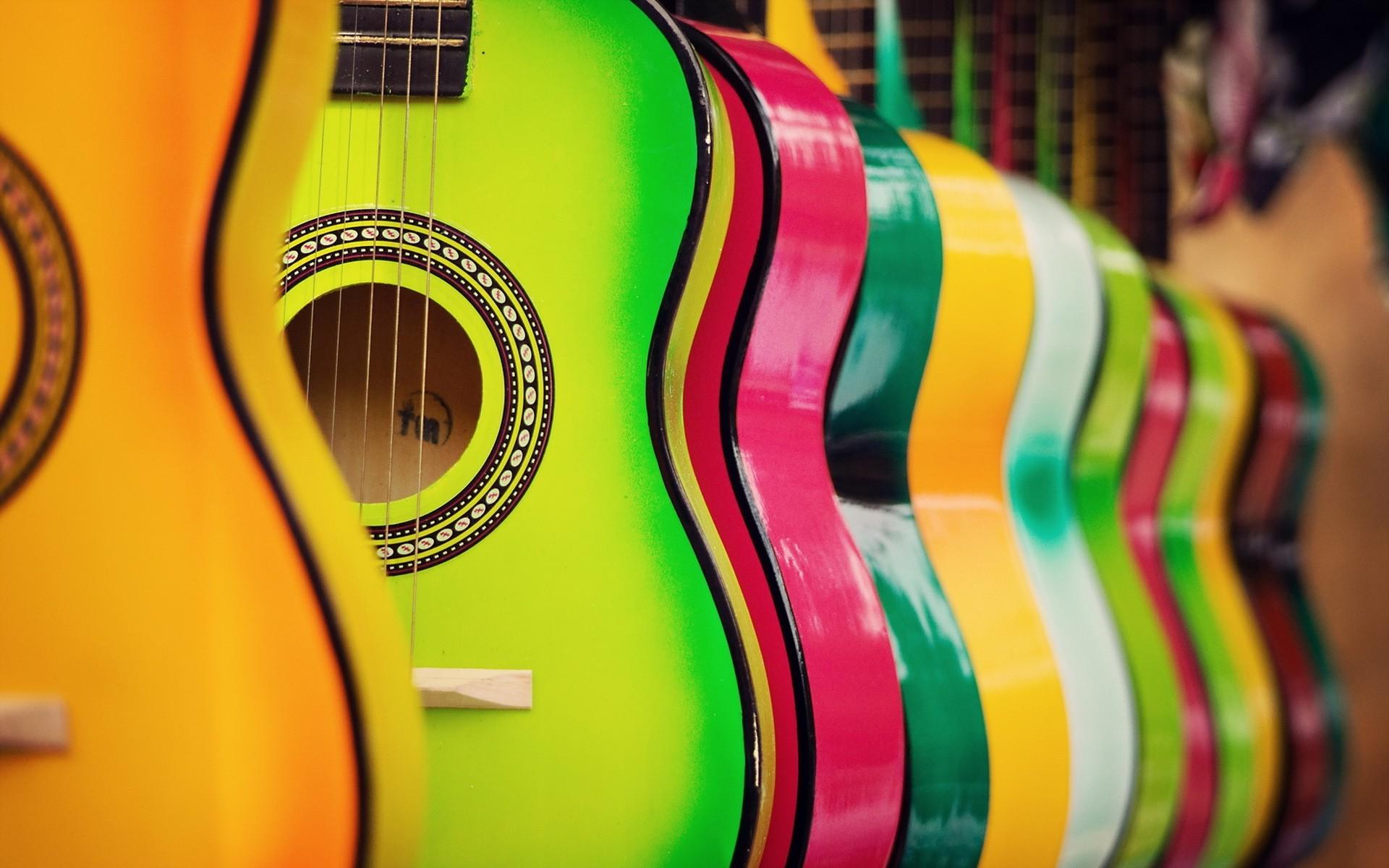 Cute Ukulele Wallpaper Colorful Guitar Hd Music 4k Wallpapers Images