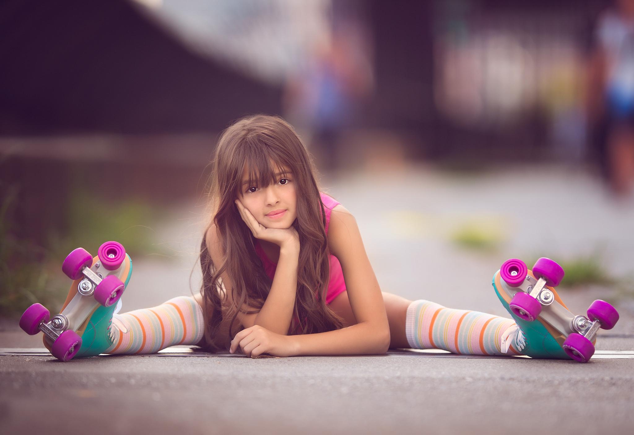 Cute Indian Girl Child Wallpaper 3840x2160 Cute Little Girl Skater 4k Hd 4k Wallpapers