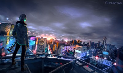 Cyberpunk Cityscape, HD Artist, 4k Wallpapers, Images, Backgrounds, Photos and Pictures
