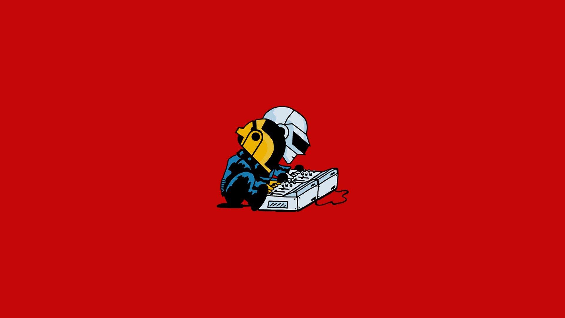 Superhero Hd Wallpapers Iphone Daft Punk Minimalism Hd Music 4k Wallpapers Images
